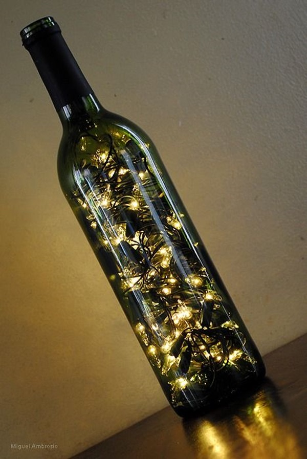 Beautiful Wine Bottle lamps  (38)