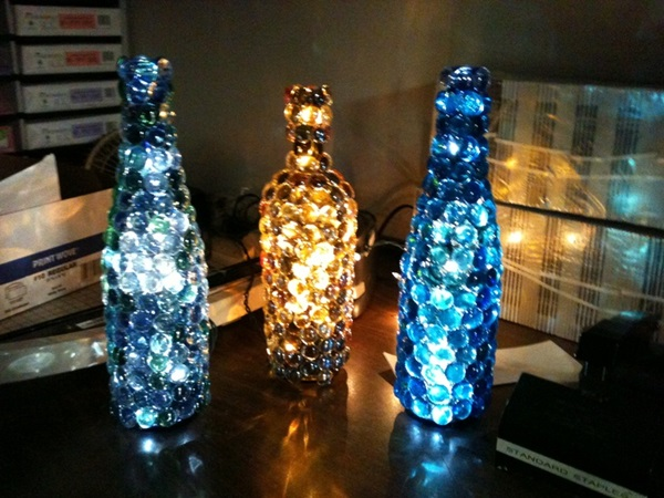 Beautiful Wine Bottle lamps  (39)