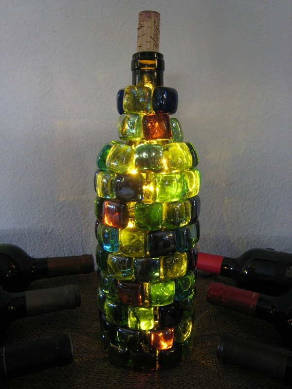 Beautiful Wine Bottle lamps  (40)