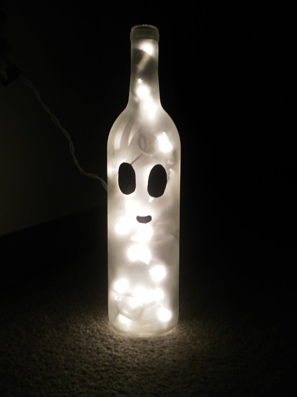 Beautiful Wine Bottle lamps  (8)