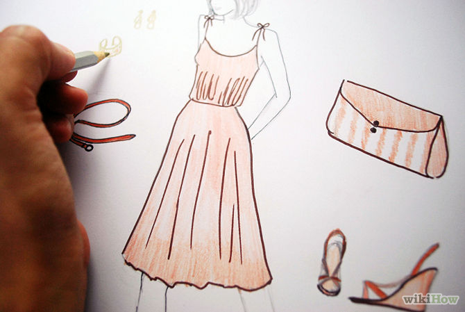 art of designing clothes