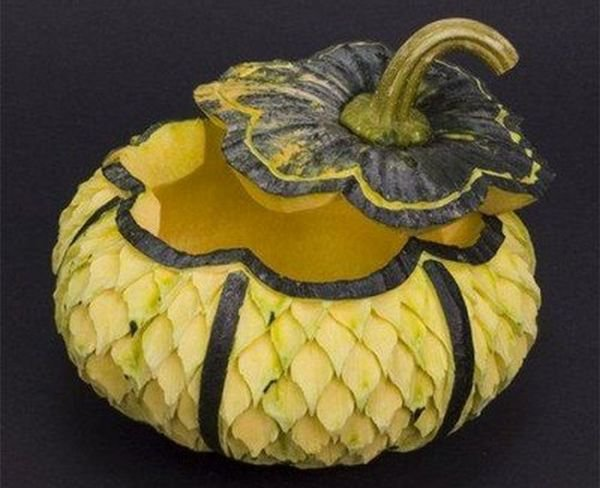 fruit vegetable carving 6
