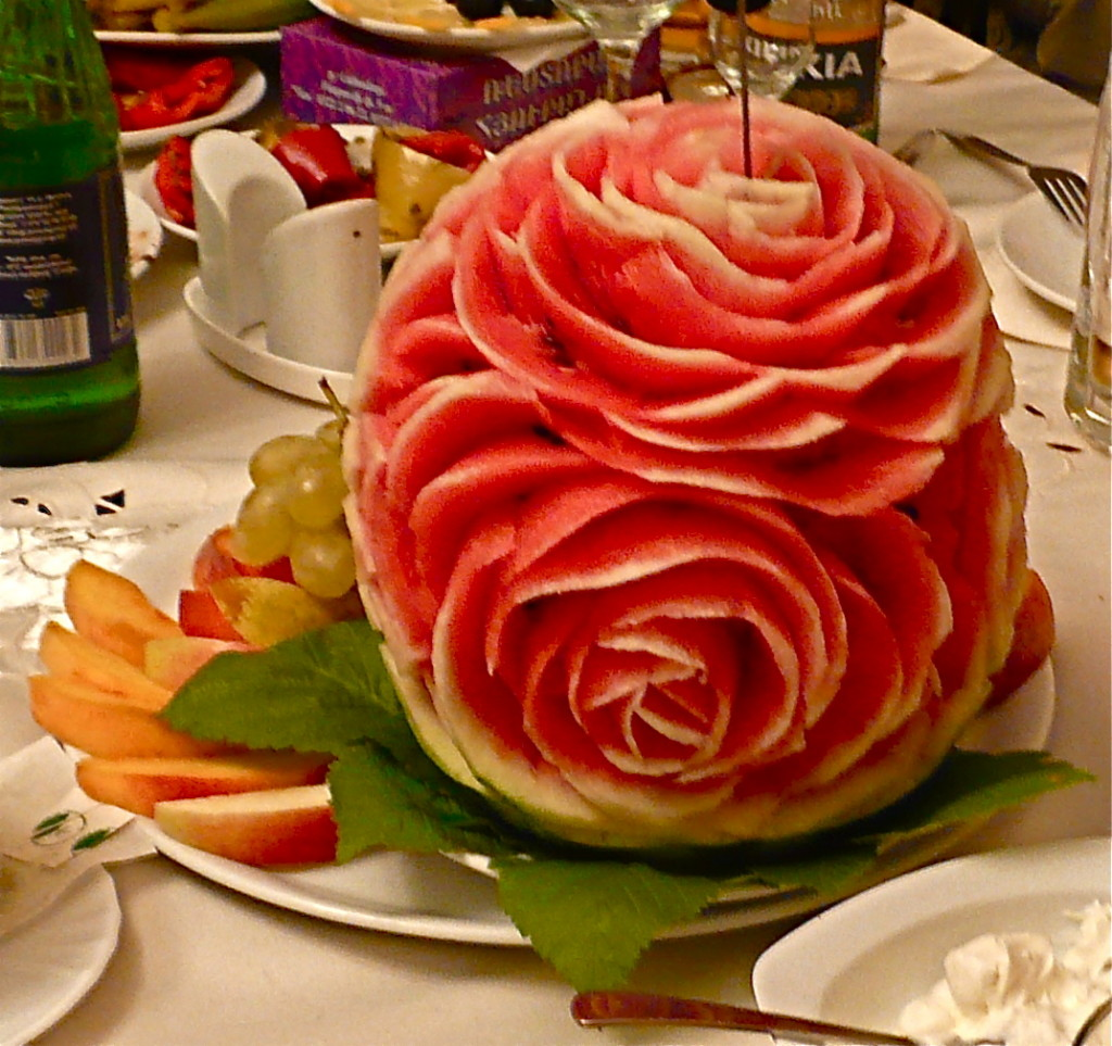 fruit vegetable carving 9