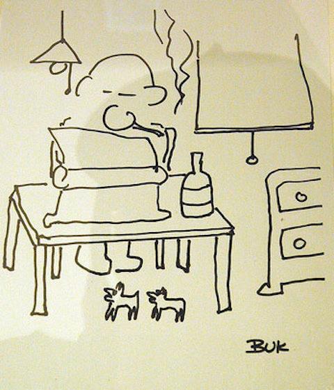 self portraits Charles Bukowski