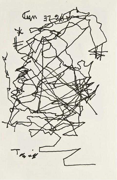 self portraits Jorge Luis Borges