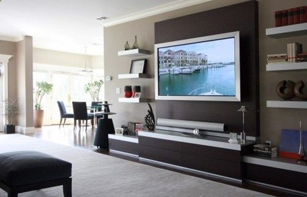 Ways to Decorate the TV wall (11)