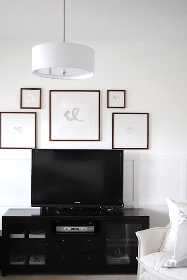 Ways to Decorate the TV wall (12)