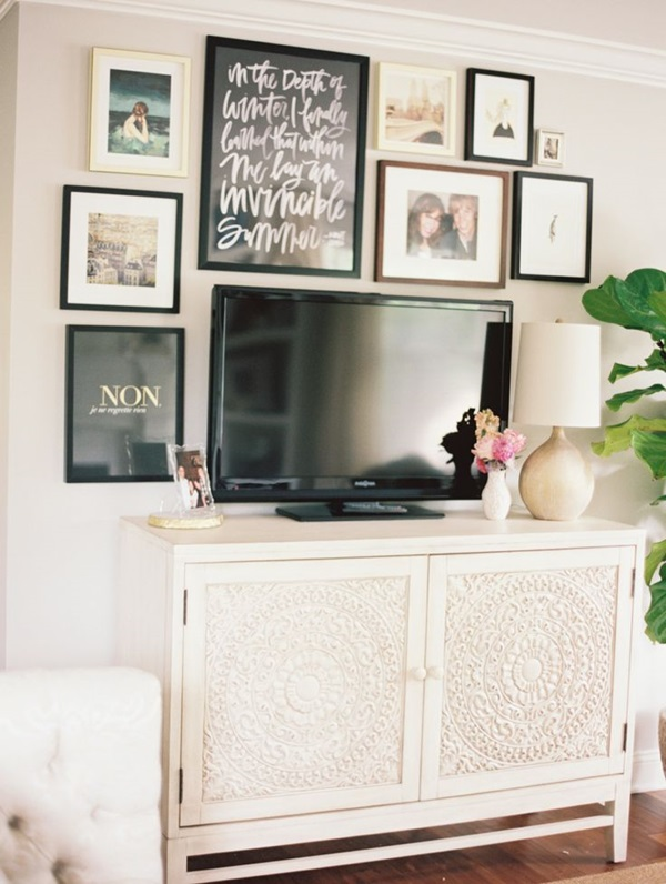 Ways to Decorate the TV wall (13)