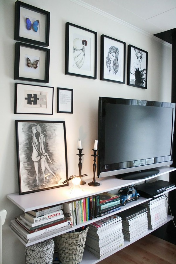 Ways to Decorate the TV wall (16)