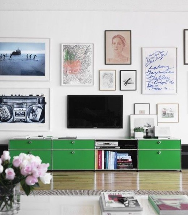 Ways to Decorate the TV wall (18)