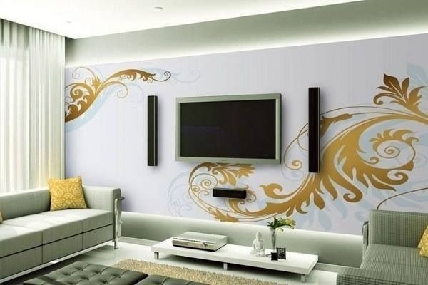 Ways to Decorate the TV wall (2)