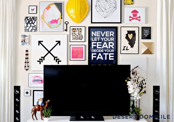 Ways to Decorate the TV wall (20)