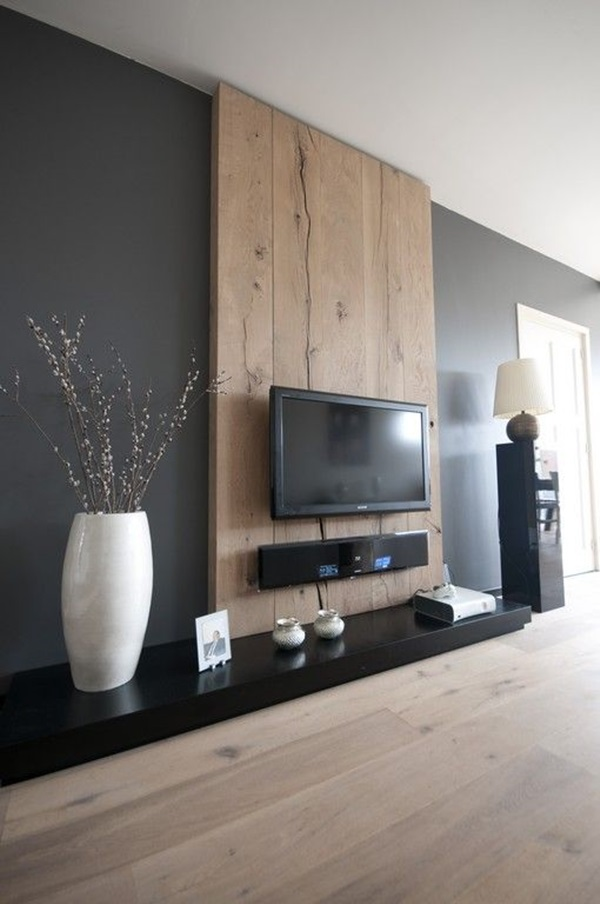 Ways to Decorate the TV wall (21)