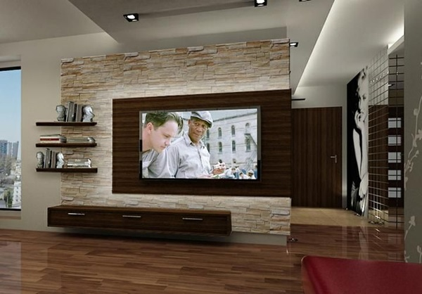 Ways to Decorate the TV wall (22)