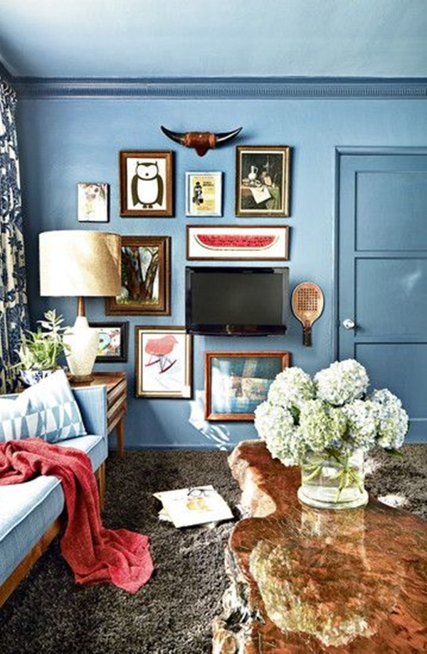 Ways to Decorate the TV wall (23)