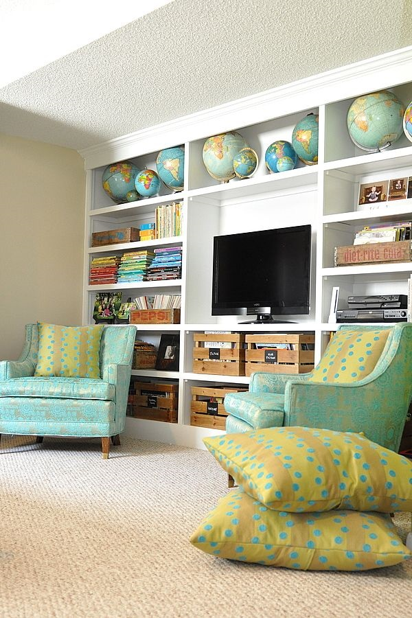 Ways to Decorate the TV wall (25)