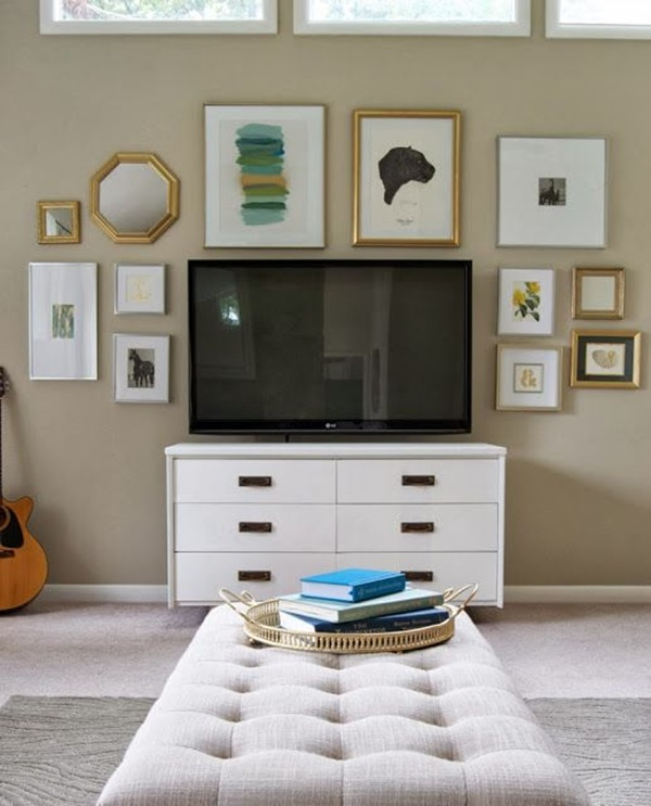 Ways to Decorate the TV wall (27)