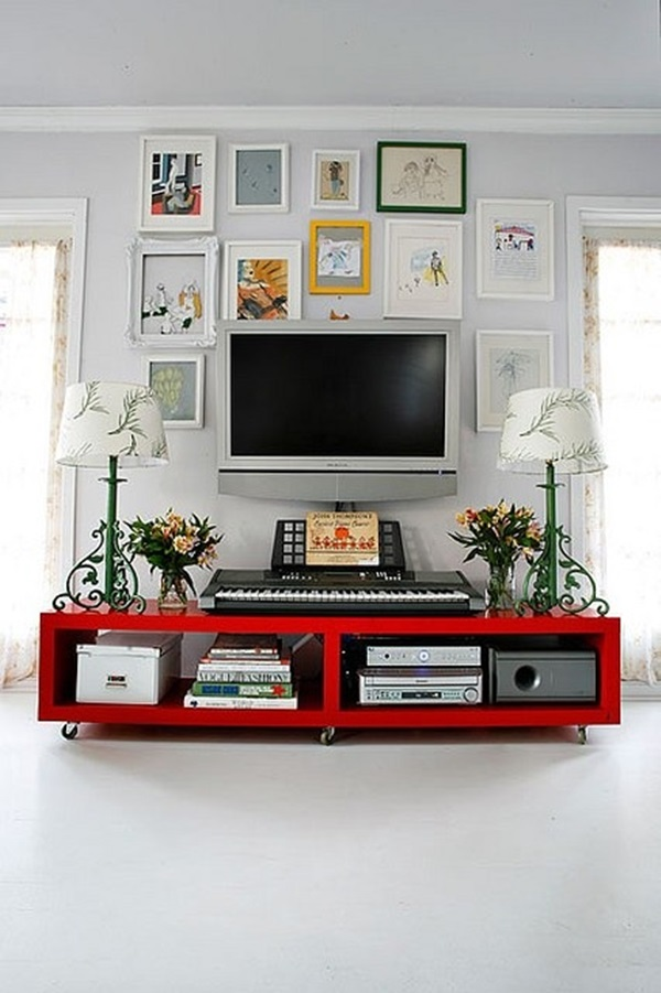 Ways to Decorate the TV wall (28)