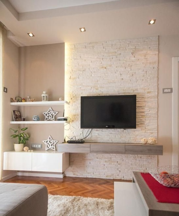 Ways to Decorate the TV wall (29)