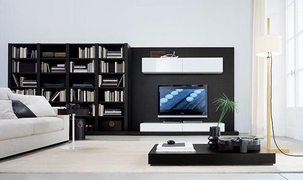 Ways to Decorate the TV wall (30)