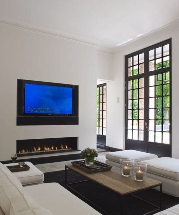 Ways to Decorate the TV wall (5)