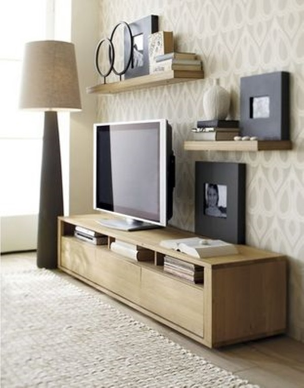Ways to Decorate the TV wall (6)