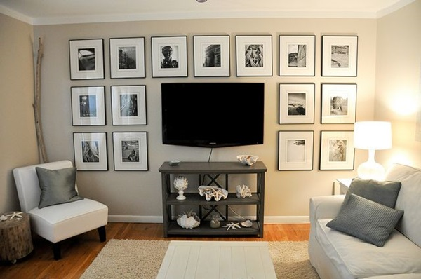 Ways to Decorate the TV wall (8)
