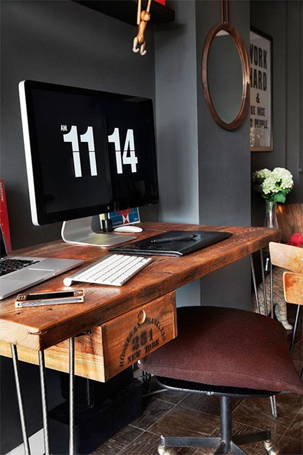 Beautiful Desk Designs And Set Ups (23)