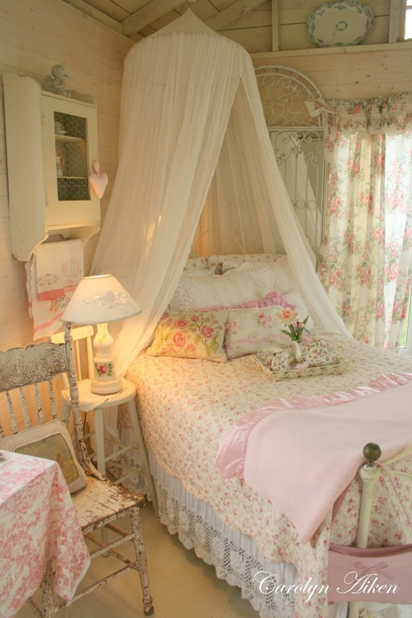 Comfy Cottage Style Bedroom Ideas  (1)