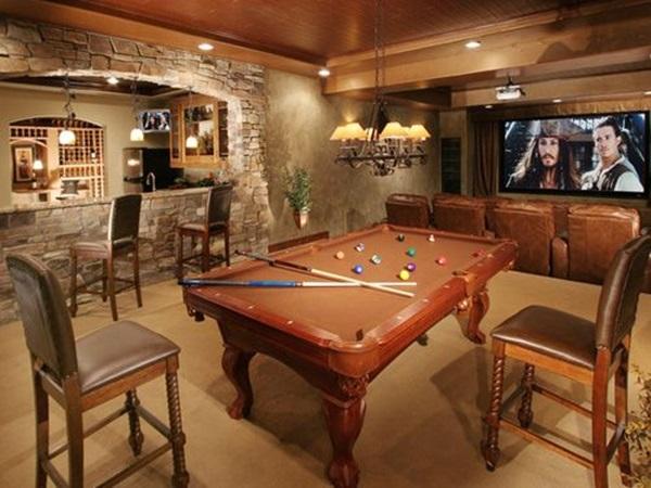 Lagoon billiard room Design Ideas (40)