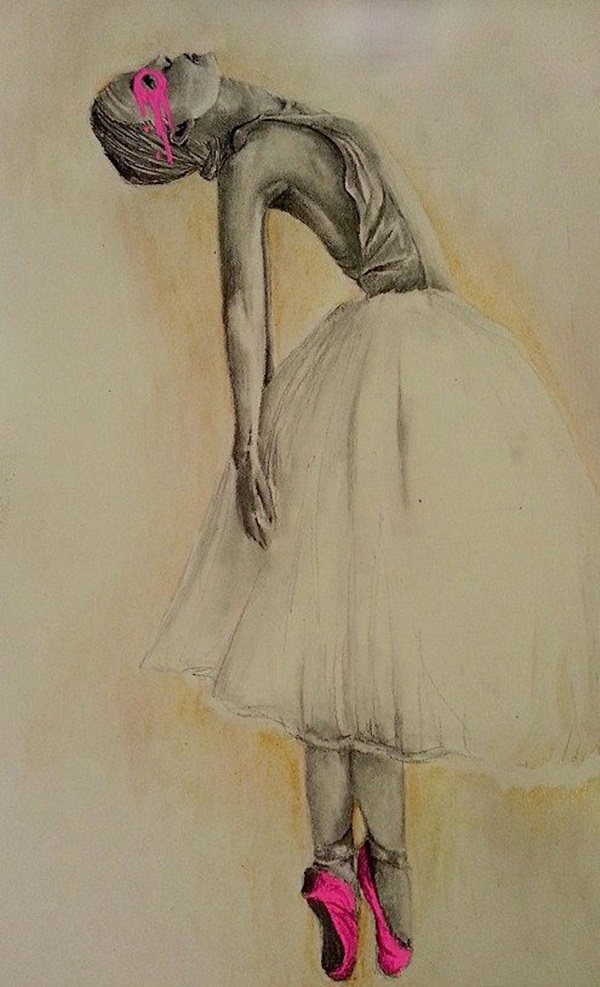 Stunning Ballerina drawings and sketches (11)