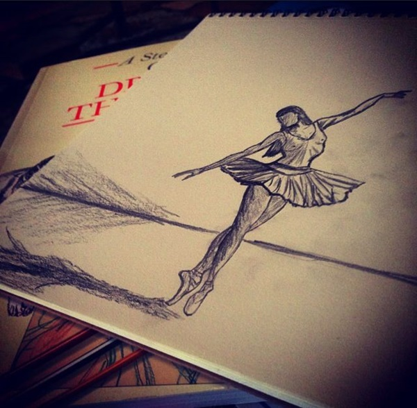 Stunning Ballerina drawings and sketches (13)