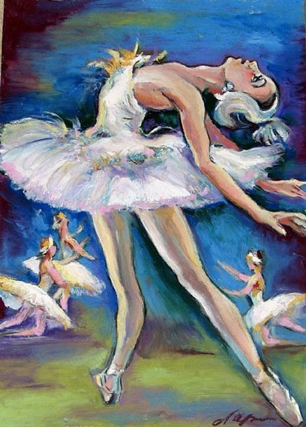 Stunning Ballerina drawings and sketches (14)