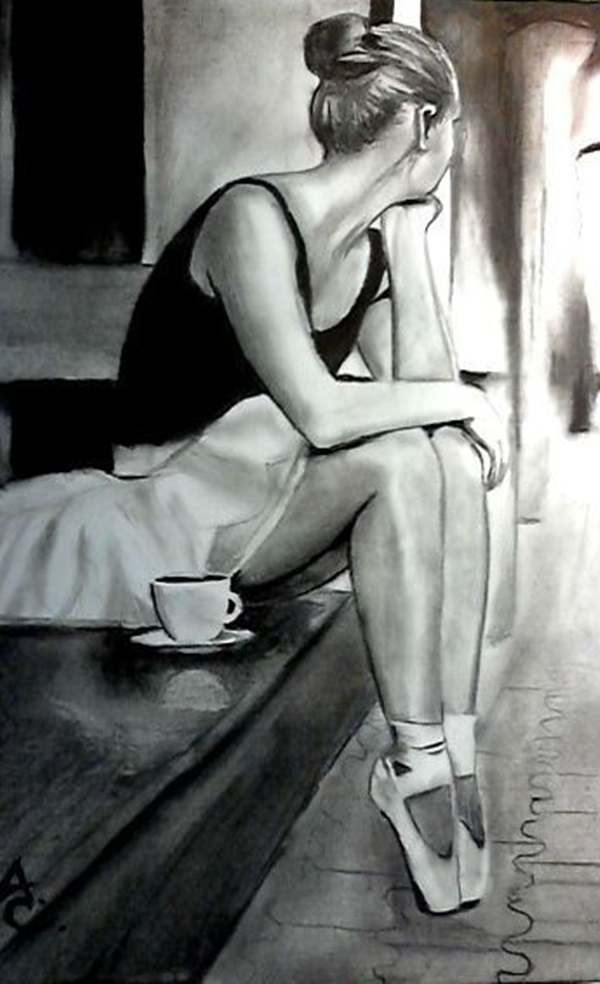 Stunning Ballerina drawings and sketches (21)