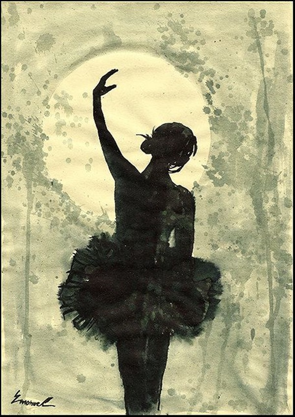 Stunning Ballerina drawings and sketches (23)