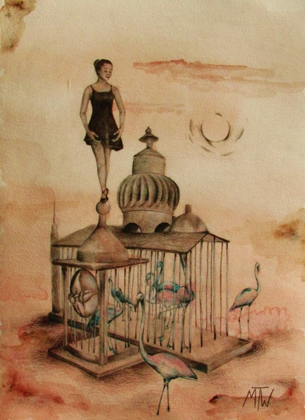 Stunning Ballerina drawings and sketches (28)