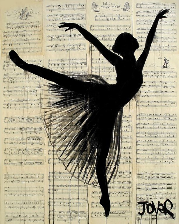 Stunning Ballerina drawings and sketches (29)