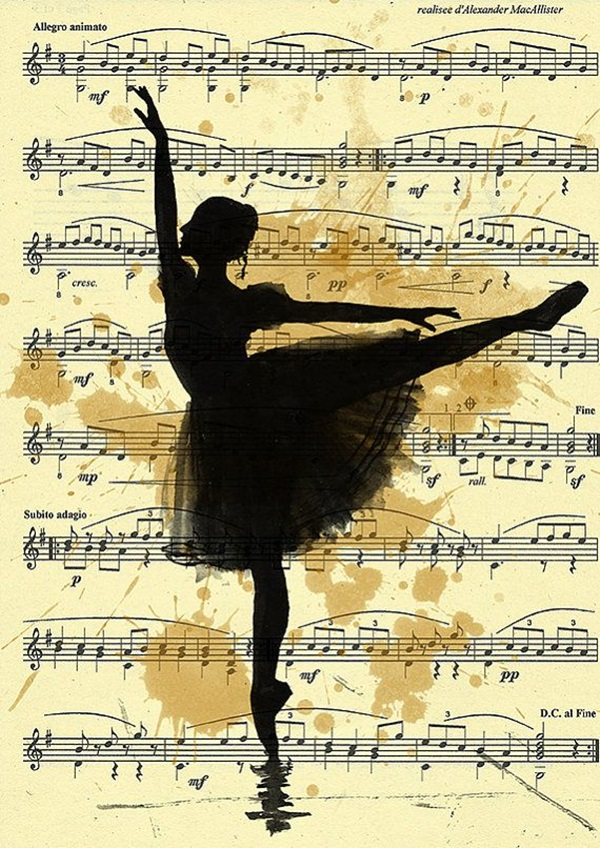 Stunning Ballerina drawings and sketches (31)