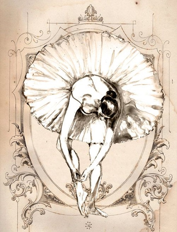 Stunning Ballerina drawings and sketches (32)