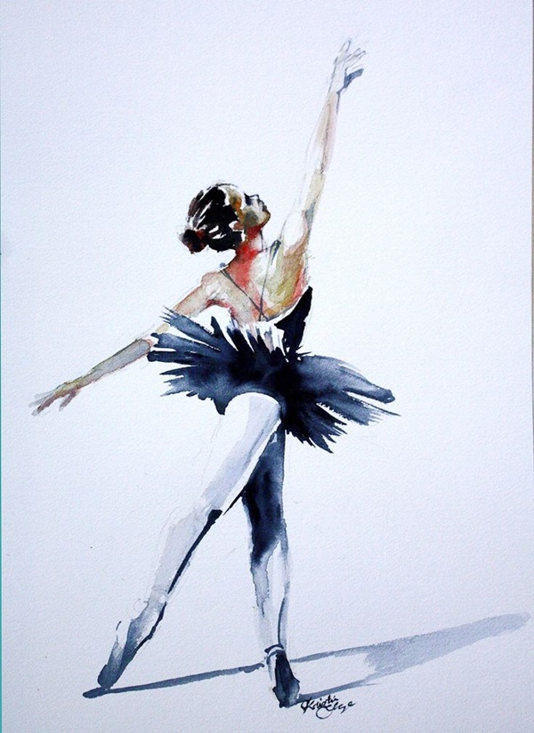 Stunning Ballerina drawings and sketches (37)