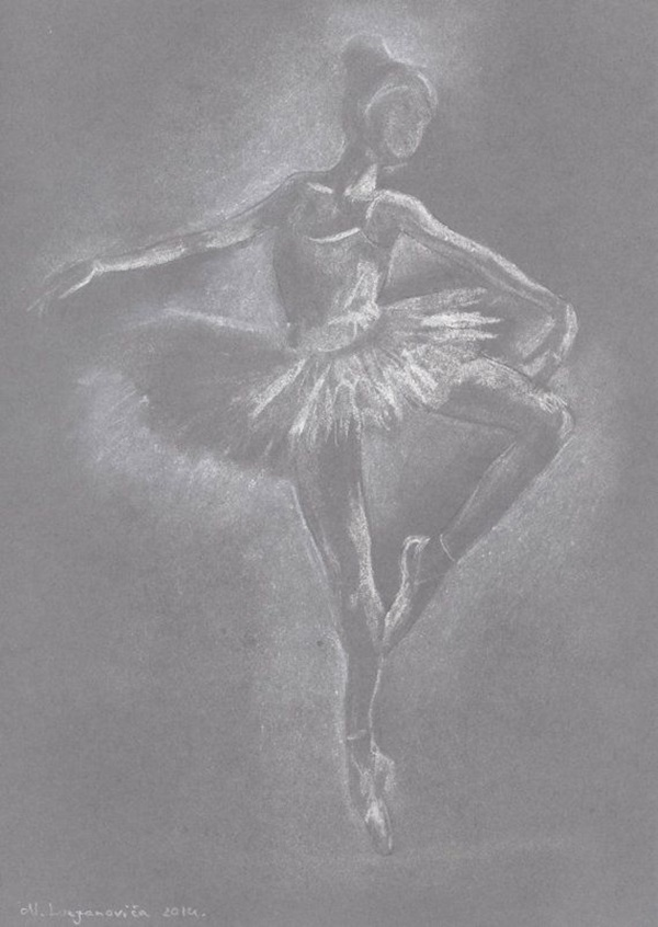 Stunning Ballerina drawings and sketches (38)