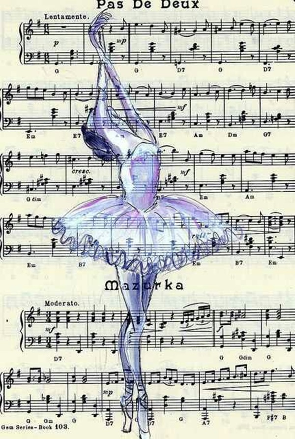 Stunning Ballerina drawings and sketches (39)