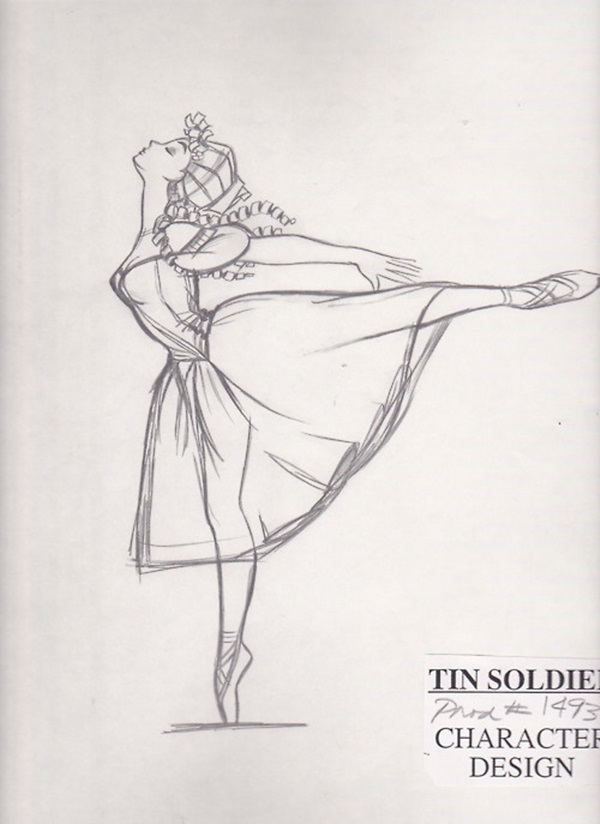 Stunning Ballerina drawings and sketches (43)