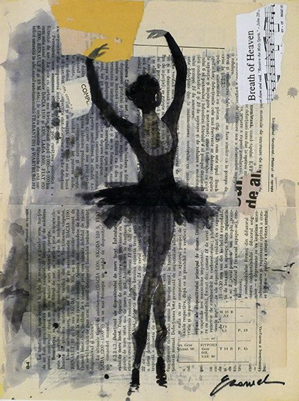 Stunning Ballerina drawings and sketches (5)