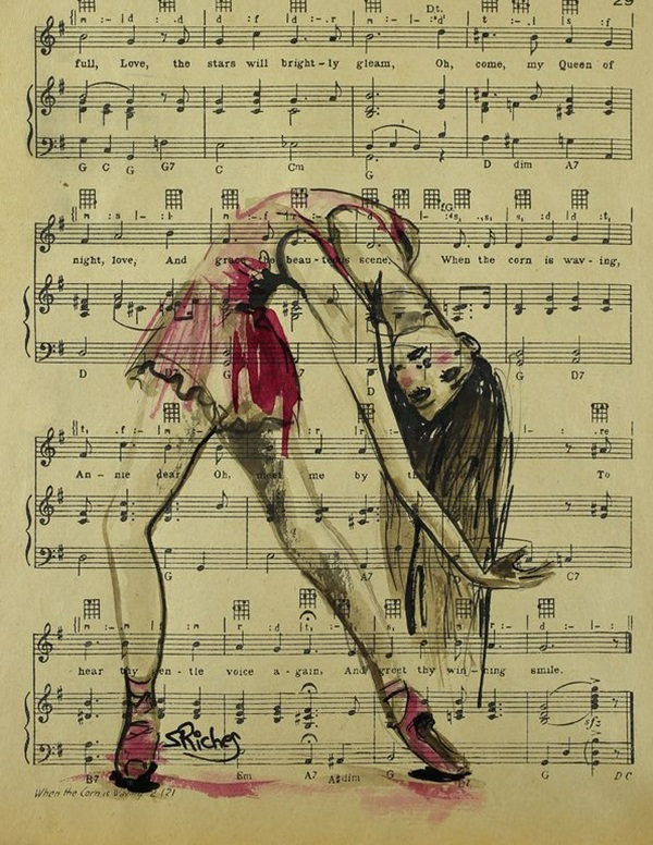 Stunning Ballerina drawings and sketches (7)