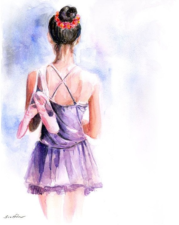 Stunning Ballerina drawings and sketches (9)