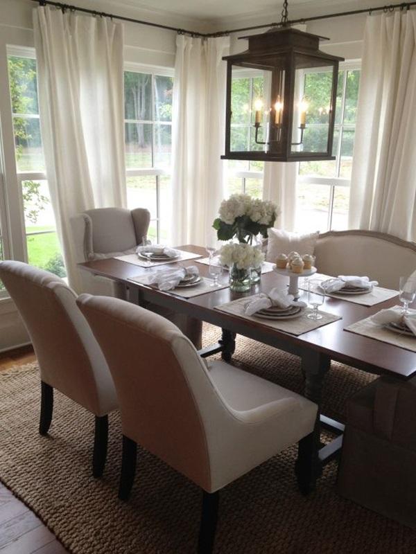 Tasteful Dining Room Lighting  (10)