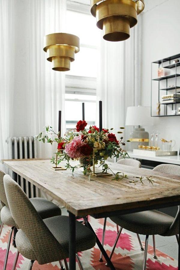 Tasteful Dining Room Lighting  (12)