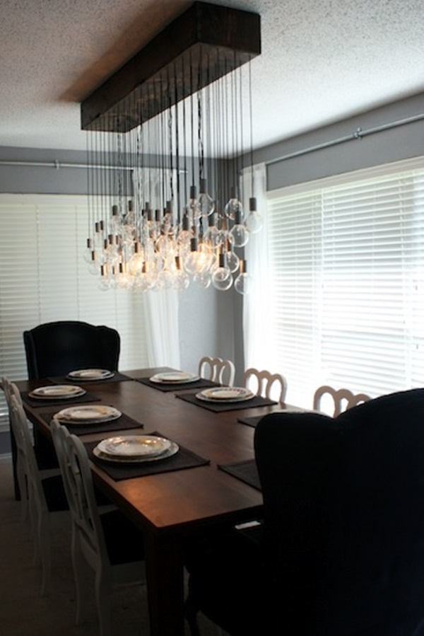 Tasteful Dining Room Lighting  (15)