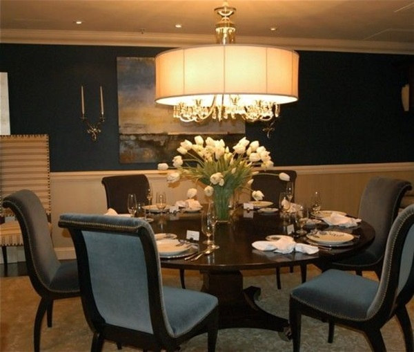 Tasteful Dining Room Lighting  (17)